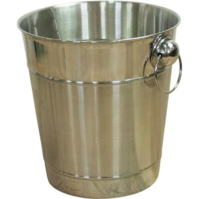 Ice Bucket Silver Polish