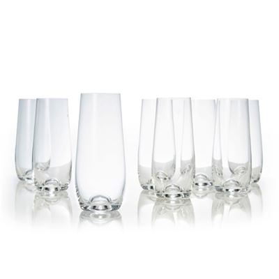 Polo S/8 Stemless Champagne Flutes