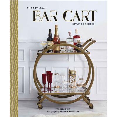Book Hardback Art of the Bar Cart
