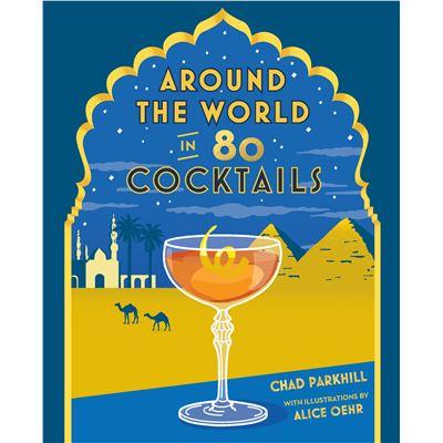 Book Hardback Around the World in 80 Cocktails