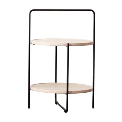 Monika Side Table Oak 50x60cm