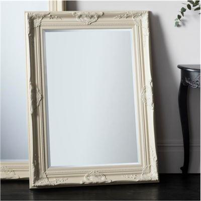 Harrow Rectangle Mirror Cream 1155x850mm