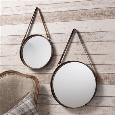 Marston Mirrors (Set of 2) 400 & 300mm