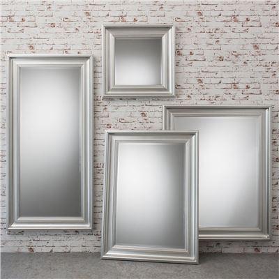 Burwell Mirror Silver 50x40'