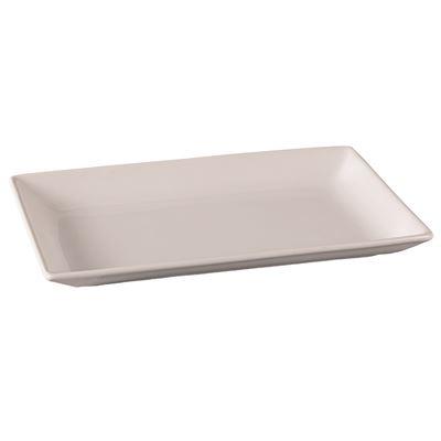 White Rectangular Platter 39x23cm