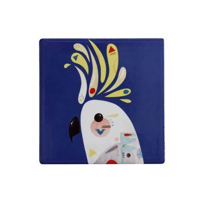 Pete Cromer Ceramic Coaster 9.5cm Cockatoo