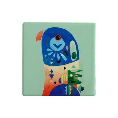 Pete Cromer Ceramic Coaster 9.5cm Lorikeet