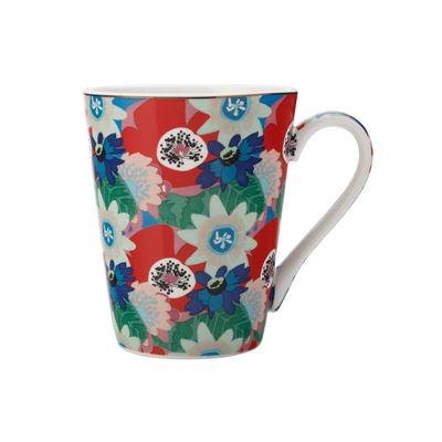 Teas & C's Glastonbury Mug 360Ml Passion Vine Blue