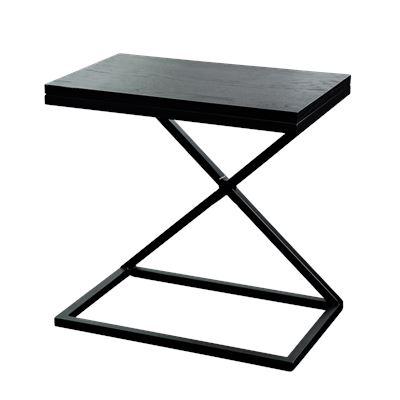 Hendrik Bedside Black 50x30cm