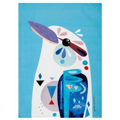 Pete Cromer Tea Towel 50x70cm Kookaburra
