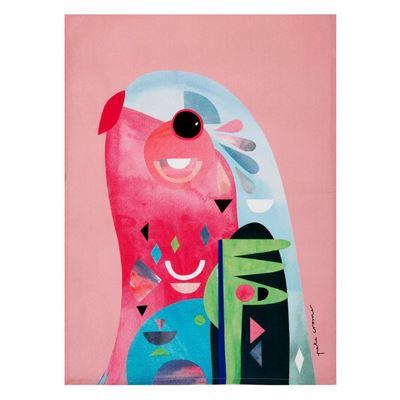 Pete Cromer Tea Towel 50x70cm Parrot