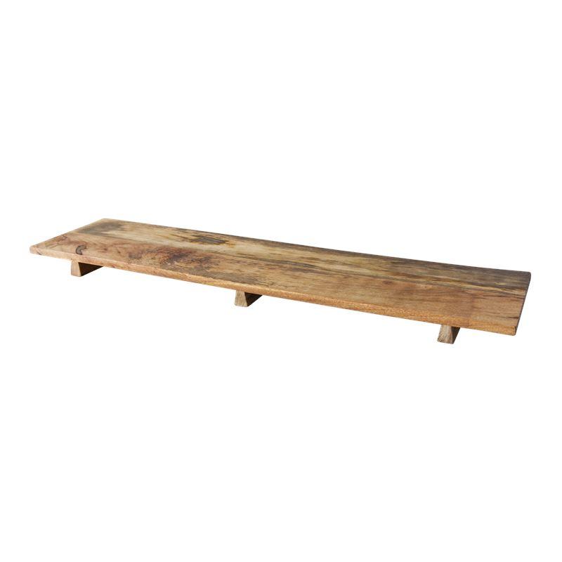 Huge Rustic Mango Wood Serving Board 100x25cm