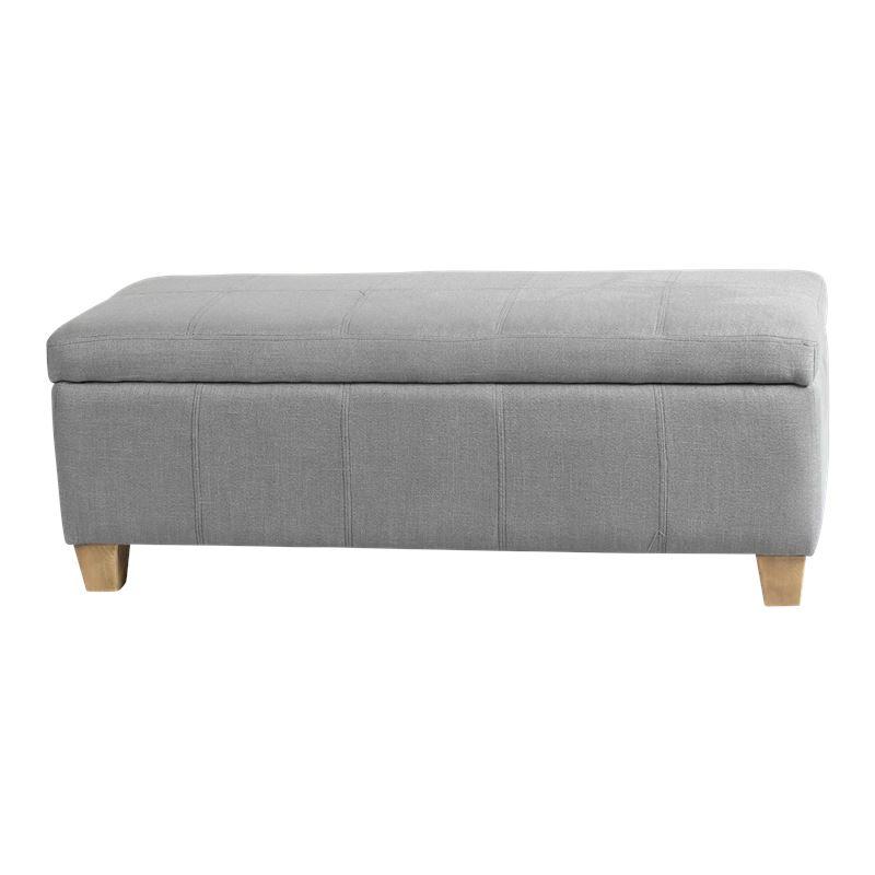 Coventry Storage Ottoman Grey