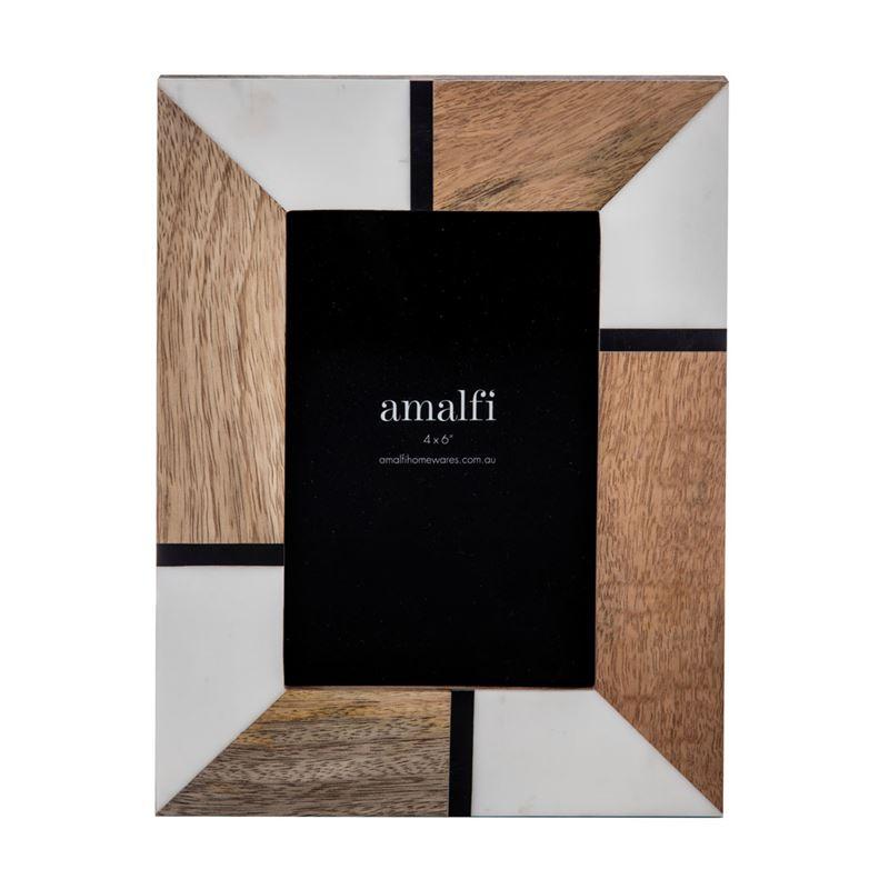 Willa 4×6′ Photo Frame Natural/White/Black