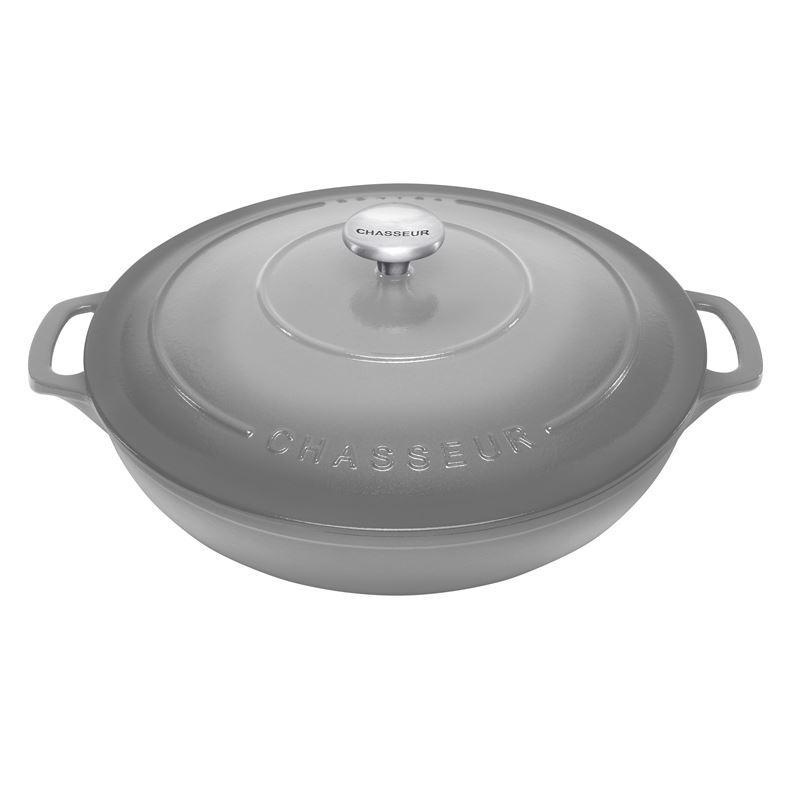 Chasseur Round Casserole 30cm/2.5 Litre  Celestial Grey