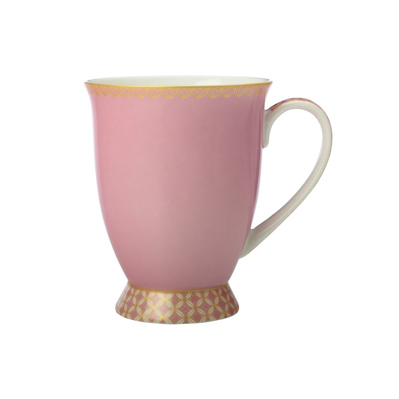 Teas & C's Classic Footed Mug 300ML Hot Pink Gift Boxed