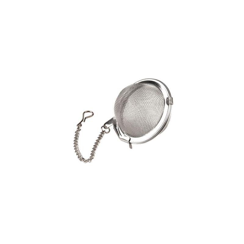 Mesh Tea Ball On Chain Stainless Steel