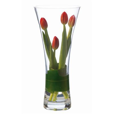 Diamante Flared Vase 34cm