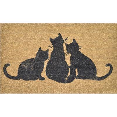 PVC Back Coir Cats 45x75cm