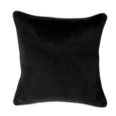 Gabriel Cushion 43X43Cm Black