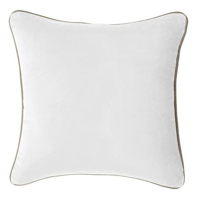Gabriel Cushion 43X43Cm White