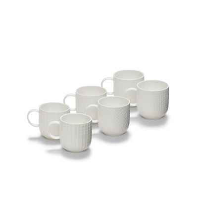 Emboss Mug 300ml S/6