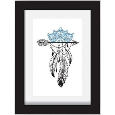 Feathers on Arrow