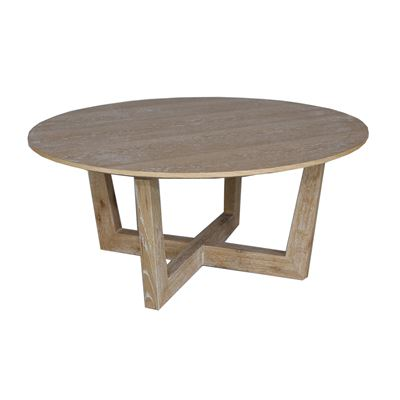 Round Wash Coffee Table