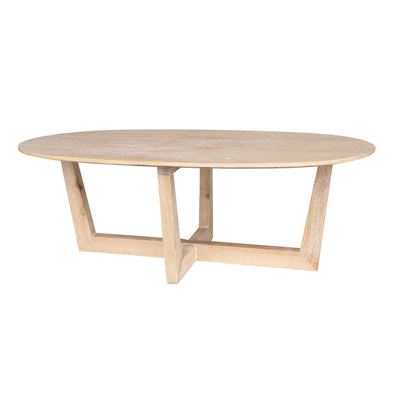 Oval Wash Coffee Table