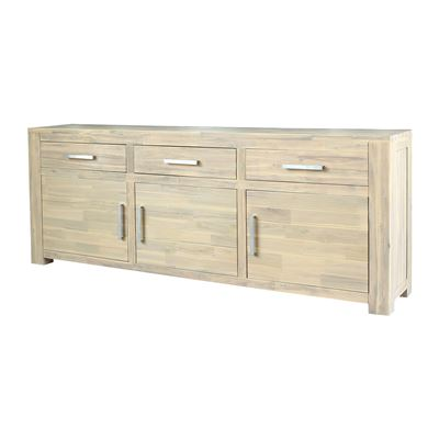 Manhattan Sideboard 3 Doors 3 Drawers Surf