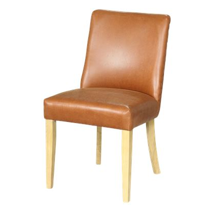 Classic Brown Dining Chair Brown Legs