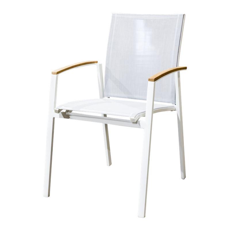 Cario Armchair Grey/White