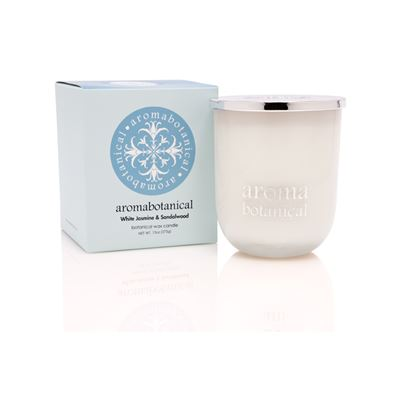 Candle White Jasmine & Sandalwood 375g
