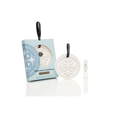 Fragrant Disc White Jasmine & Sandalwood 12Pcs