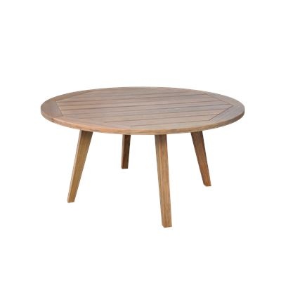 Round Outdoor Dining Table Eucaplyptus 150