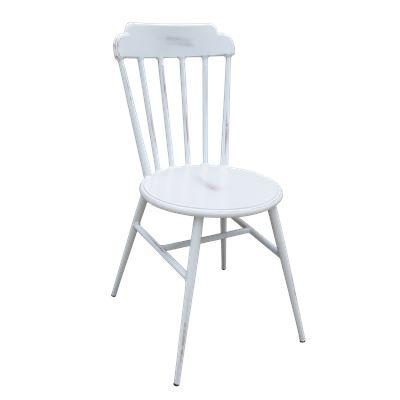 Aluminium Outdoor Chair Antique White
