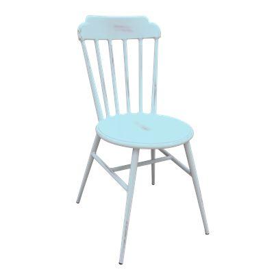 Aluminium Outdoor Chair French Blue