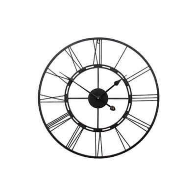 Frame Clock Black 60Cm