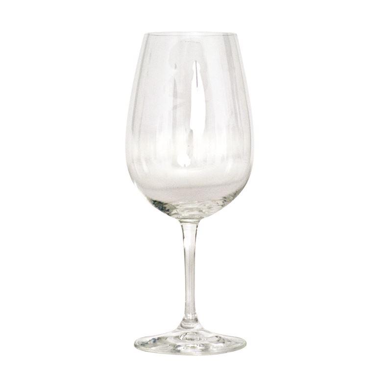 Salut 6 Set Red Wine Glasses