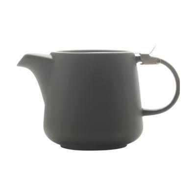 Tint Teapot 600Ml Charcoal
