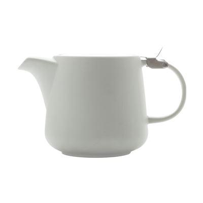 Tint Teapot 600Ml White