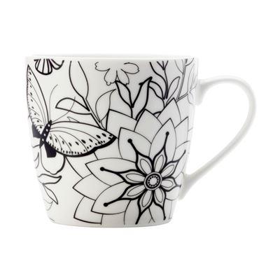 Mindfulness Mug 470ML Butterflies