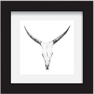 Rams Head 30x30cm