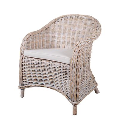 Bonsum Rattan Weave White Wash