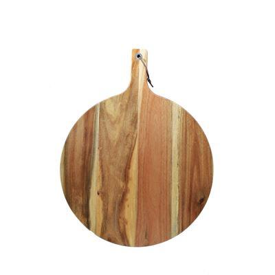 Serving Board Acacia Wood 40x52x1.8cm Round