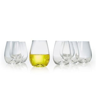 Polo S/8 Stemless Wine Glasses
