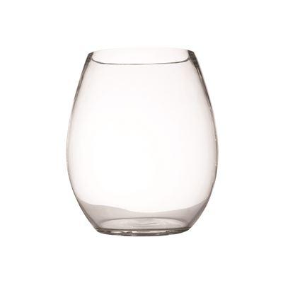 Diamante Barrel Vase 18Cm Gb