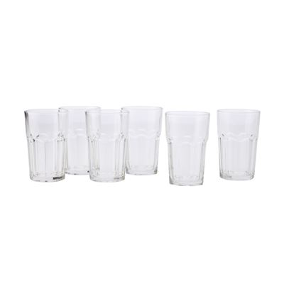 Faceta Tumbler Set Of 6 425Ml Gift Boxed