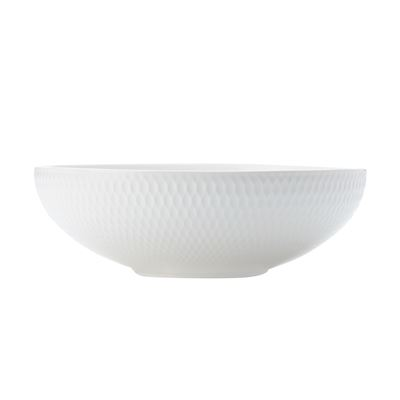 White Basics Diamon Coupe Bowl 18.5Cm