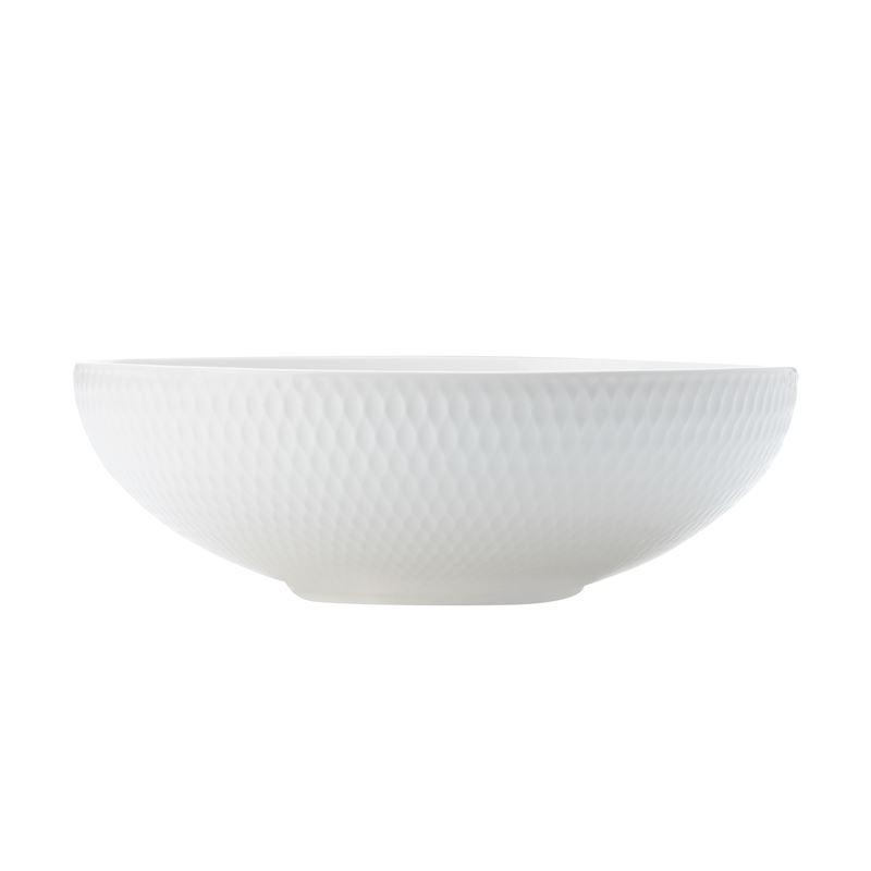 White Basics Diamond Coupe Bowl 18.5Cm